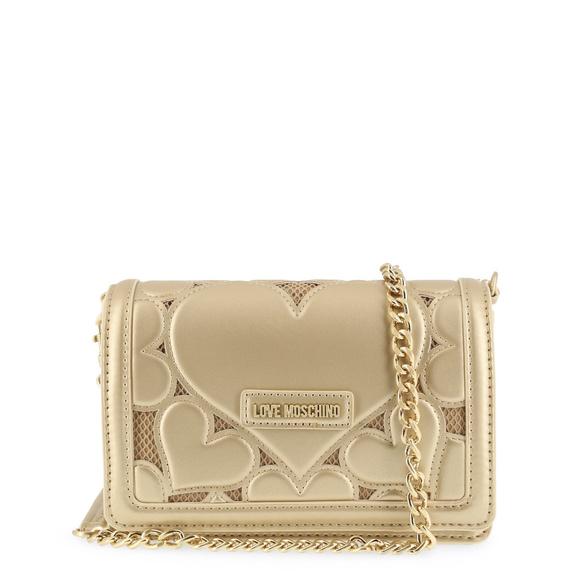 54cbedcd584 Love Moschino Bags | Yellow Leather Clutch Bag | Poshmark